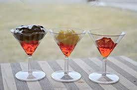 chocolate raspberry martini dessert