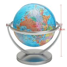 world globe on stand. World Globe Earth Ocean Atlas Map With Rotating Stand Geography Educational Toy On