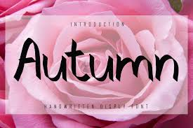 Browse a unique collection of the best handwritten fonts and thousands of free typefaces to download. Autumn Font By Giatstudios Creative Fabrica