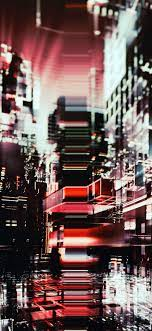 red-light-abstract-art-black