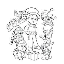 Paw Patrol Coloring Pages Movies And Inside Plans Page Chase