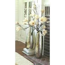 clear glass floor vase large standing vases cylinder very tall