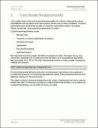 requirements document template functional requirements document template larissanaestrada com
