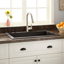 Composite Granite Kitchen Sinks Granite Composite Kitchen Sinks Signature Hardware