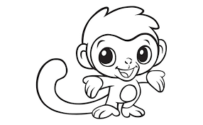 Small Picture Monkey Template Animal Templates Free Premium Templates