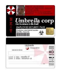 Umbrella Security Burnzeee By Keycard On Deviantart Corp