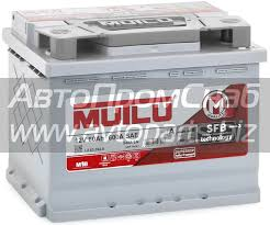 Аккумулятор <b>60 Ач Mutlu</b> Calcium Silver 540 А, прямой (+ ...