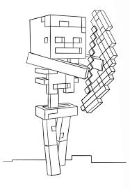 Summary Minecraft Mutant Enderman Kleurplaat Gratis Kleurplaten