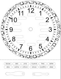 Telling Time Worksheets In Spanish - Checks Worksheet