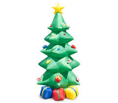 Inflatable Christmas Tree with Presents - 2.4M