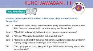 Berikut ini adalah jawaban buku paket bahasa jawa kelas 8 halaman 114 yang merupakan kumpulan file dari berbagi sumber wallpaper tentang jawaban bahasa indonesia kelas 9 halaman 44 yang bisa bapakibu gunakan dan diunduh secara gratis dengan menekan tombol download biru dibawah ini. Lengkap Kunci Jawaban Tema 3 Kelas 5 Sd Halaman 27 29 31 32 33