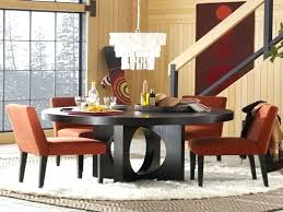 round kitchen table sets white modern and luxurious dining space with chandelier wooden set red chairs round kitchen table sets