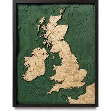 Wood Bathymetric Charts United Kingdom