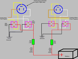 wire headlight wiring image wiring diagram wiring diagram for relay for headlights the wiring diagram on 3 wire headlight wiring