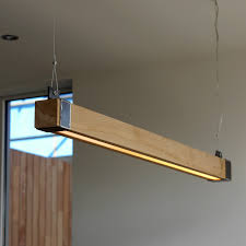 Houten Balklamp Woodlight New Indusigns