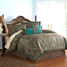 blue paisley comforter sets jacquard king set with brown turquoise damask comforters and purple bed sheets