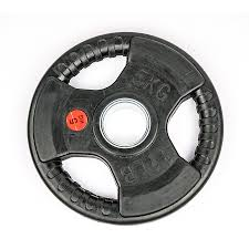 olympic rubber tri grip plate