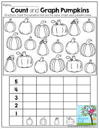Graphing Pumpkins and tons of other fun printables! | First grade ...
