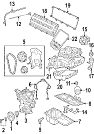 parts com® jeep engine crankshaft bearings front crank seal 2007 jeep grand cherokee overland v8 5 7 liter gas crankshaft bearings