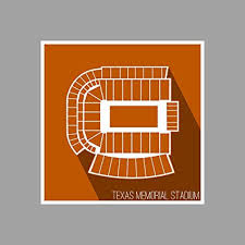 Amazon Com Artsycanvas Texas Texas Memorial Stadium