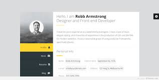 Wordpress Resume Theme Free Best vCard WordPress Themes 24 For Your Online ResumePersonal 1