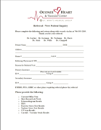 Referral Form Templates Referral Forms St Marys Hospital And Health Care System