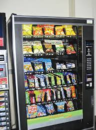 Healthy Choice Vending Machines Gorgeous Healthier Snacks Fill Vending Machines Vending Stripe Option Nixed