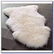 white faux fur rug rugs home design ideas ikea