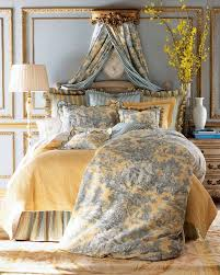 legacy by friendly hearts king lutece cypress toile duvet cover king dust skirt scalloped toile king sham