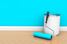 awesome light blue wall paint crown molding can boost home re value interior bedroom relaxing ideas