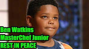Ben Watkins MasterChef Junior dies at ...