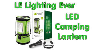 Le Lighting Led Camping Lantern By Lighting Ever