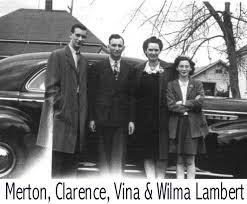 Photos: The Lamberts; Clarence, Vina, Merton and Wilma