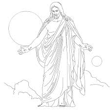 A family at the temple. Free Printable Jesus Coloring Pages For Kids
