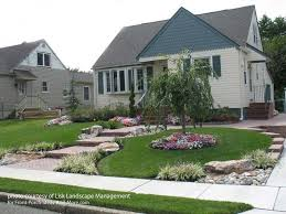 Front Yard Landscape Designs With Before And After Pictures Curb Appeal  Small Front Yard