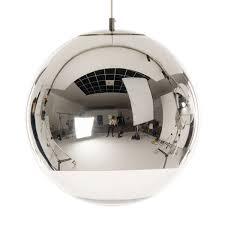 tom dixon mirror ball pendant 40 cm