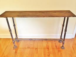 narrow hall console table. Table The Designer Unique Narrow Hallway Console With Entry Foyer Sofa Handmade Hall