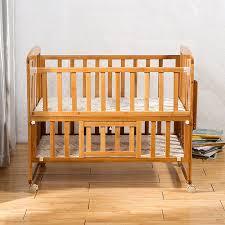 bamboo baby crib nice style baby bed