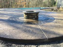 Stacked Stone Fire Pit custom made fire pits 4355 by xevi.us