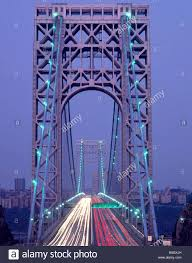America S First Traffic Light Usa New York City George Washington Bridge Traffic Light