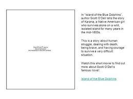 blue dolphin essay island persuasive sparknotes island of the  blue dolphin essay island persuasive