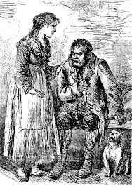 bill sikes and nancy ninth illustration for oliver twist by   bill sikes and nancy ninth illustration for oliver twist by sol eytinge jr