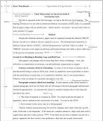 ama style for research papers ama stat  fig 2 text page