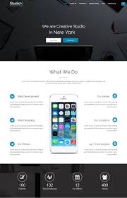 one page website template 15 best one page website templates with responsive designs