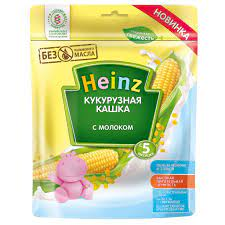 Bột ăn dặm Heinz Nga vị Sữa và Ngô 5M+ - Shop Tuổi Thơ