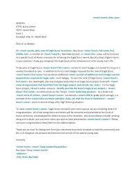 Boy Scout Letter Of Recommendation For Eagle Scout Parent Recommendation Letter For Eagle Scout Boy Scout Eagle