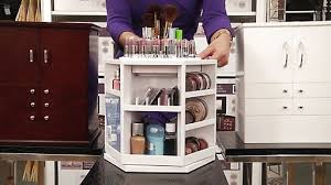 australia lori greiner spinning cosmetic organizer in white image 8 from the video