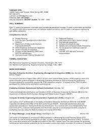 Dod Resume Format Resume Template Ideas