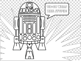 Star Wars Fall Of The Resistance Coloriage R2d2 Coloriage De