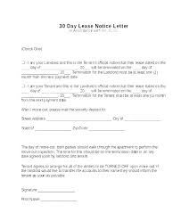 Notice Of Lease Termination Letter From Landlord To Tenant Sample Lease Termination Letter Free Download Writing A From